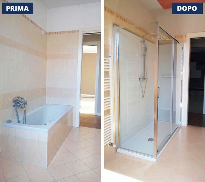 Sostituzione vasca in doccia Ghedi - Brescia
