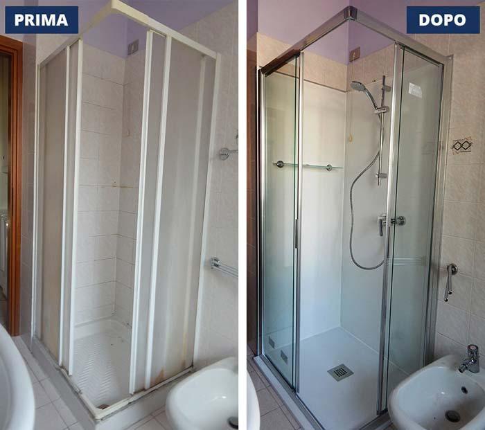 Sostituzione doccia 70x90 a Mantova