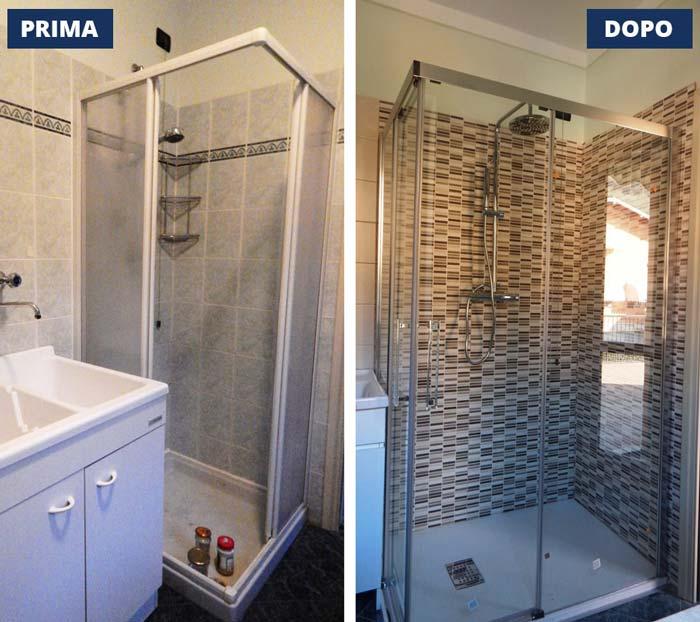 sostituzione doccia Concesio -  Brescia