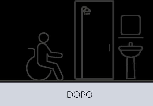 Mobilità bagno dopo